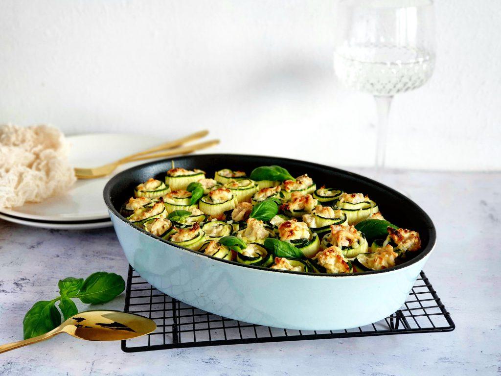 heerlijk recept voor courgette lasagne met jackfruit